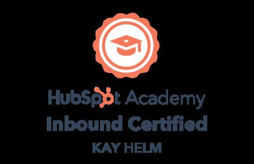HubSpot Academy Certified Inbound